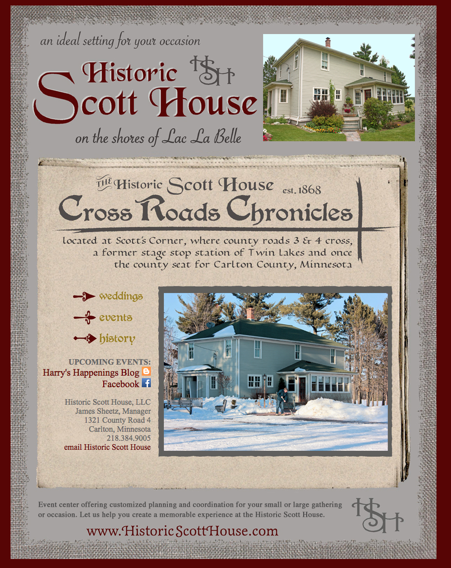 Historic Scott House website