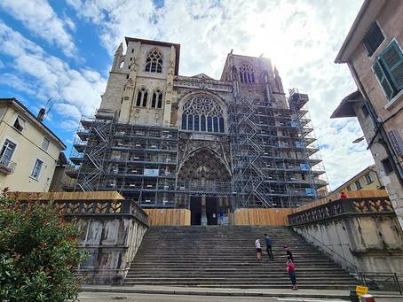 Société - Travaux de rénovation de la cathédrale