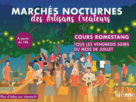 Culture - Marchés nocturnes des artisans créateurs