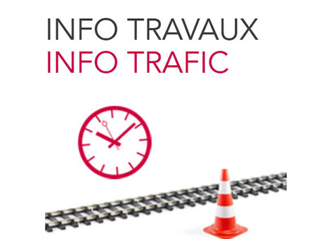 Travaux - Modification des circulations des TER Vienne - Lyon