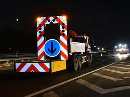 Travaux – Déviation nocturne en raison de travaux sur l'A7