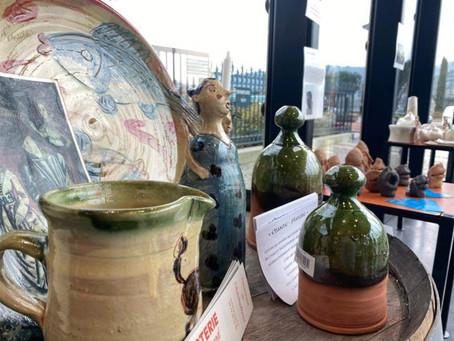 Culture - Le pavillon du tourisme accueille des céramistes