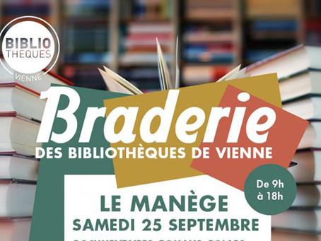 Culture - Braderie des bibliothèques de Vienne