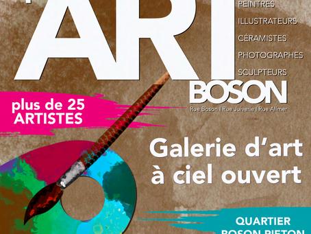 Culture - qu'ART'ier BOSON : 1ère édition le 12 Juin
