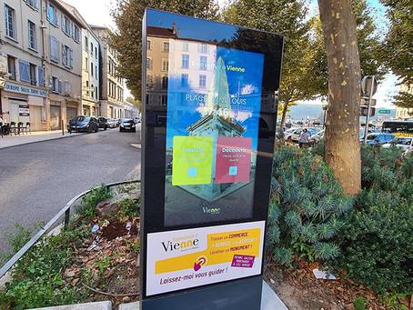 Société - Des bornes interactives installées au centre de Vienne