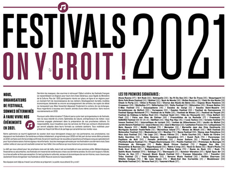 Festival – Jazz à Vienne solidaire de « Festivals 2021, on y croit ! »
