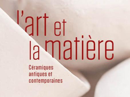 """Culture – Exposition """"L'art et la matière"""" au musée archéologique"""