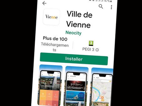 Société - Une application mobile pour Vienne