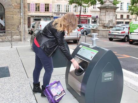 Société – Les bacs de déchets remplacés par des conteneurs