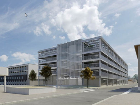 Travaux - Un nouveau parking à l'espace Saint-Germain