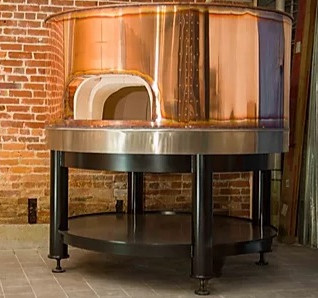 Red Copper Oven
