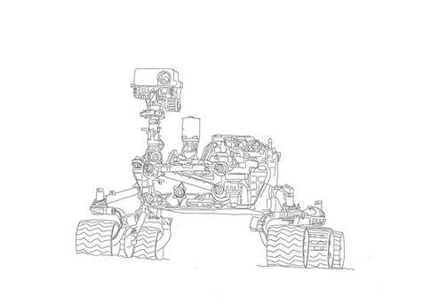 Curiosity Mars Rover | zum Download