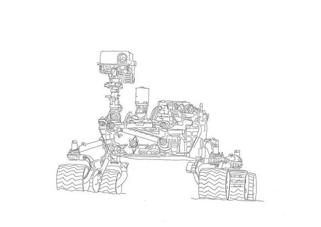 Curiosity Mars Rover | zum Download