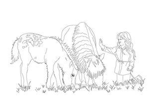 Mädchen mit Pony | zum Download