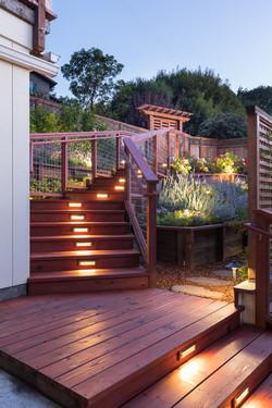 Terraced Stairway