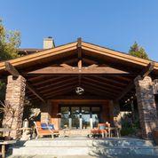 Extension (custom built terrace with custom stonework)