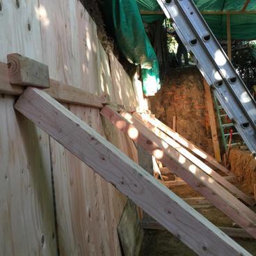 Excavation & Shotcrete Wall #5