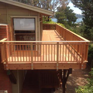 Deck Installation & Soil Excavation #1