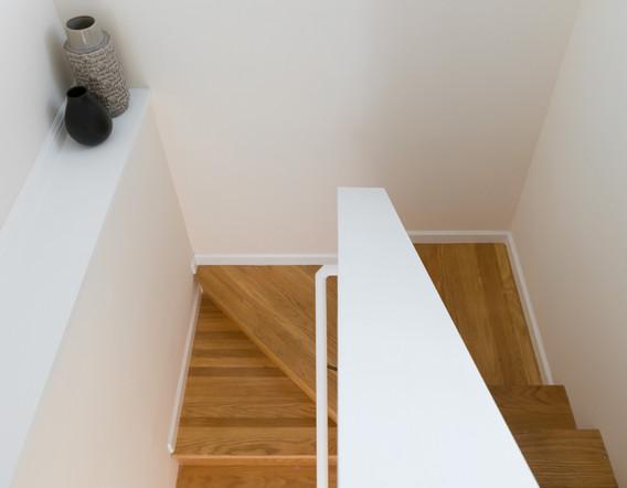 Refurbished Stairway to Downstairs