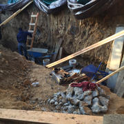 Excavation & Shotcrete Wall #4