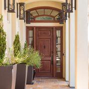 Custom Built Entrance Door