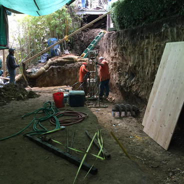 Excavation & Shotcrete Wall #2