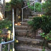 Stone Stairway & Railing Installation #1