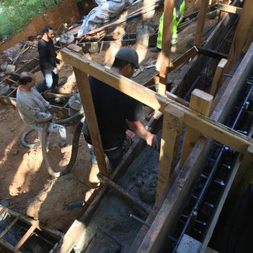 Forming Foundation Carport #1