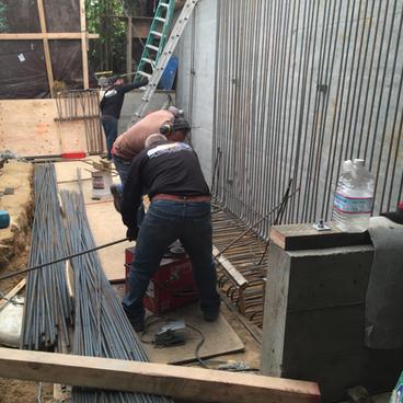Excavation & Shotcrete Wall #6