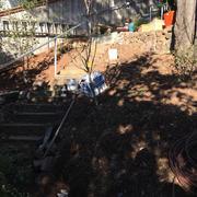 Stone Stairway & Railing Installation #2
