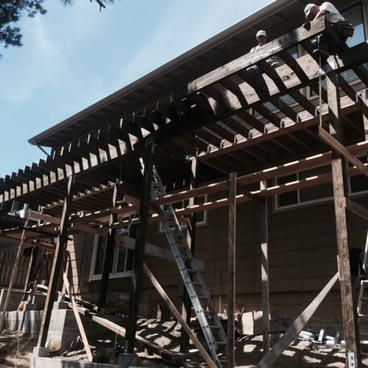 Deck Installation (underpinning)