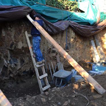 Excavation & Shotcrete Wall #3