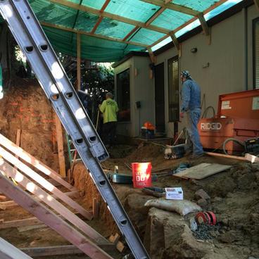 Excavation & Shotcrete Wall #1