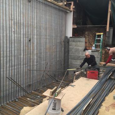 Excavation & Shotcrete Wall #7