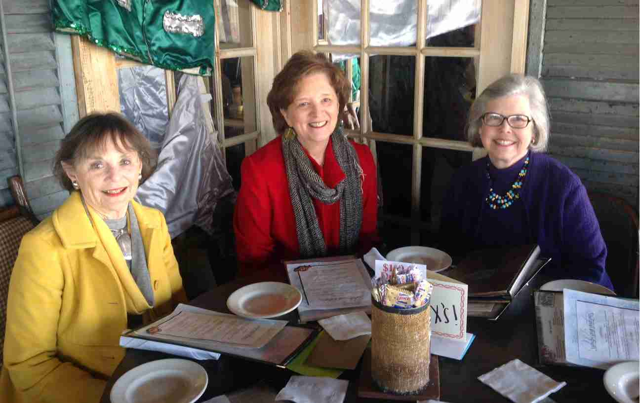 3 ODWA Presidents  -Martha Harris, Robin Fitzhugh, and Margaret Mangham