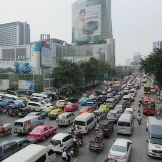 What traffic jam?