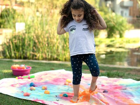 Paint Bombs – Summer Art Activity