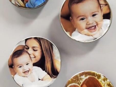 DIY Baby Food Jar Picture Frames Video!