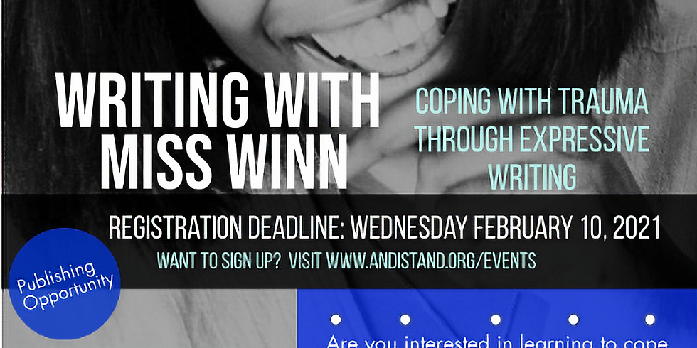 """""""Writing with Miss Winn: Coping with Trauma Through Expressive Writing"""""""