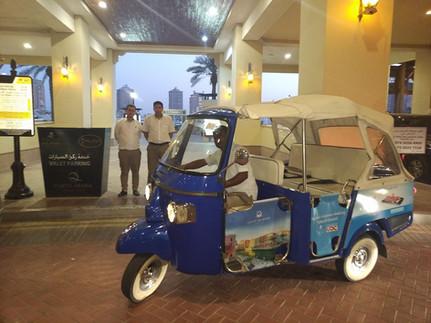 TUK TUK Service in Porto Arabia
