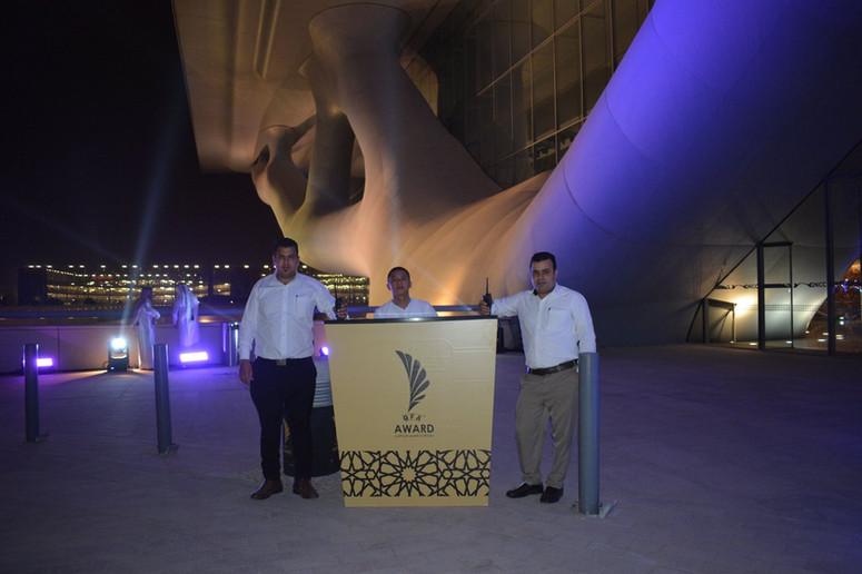 Emir Cup award ceremony