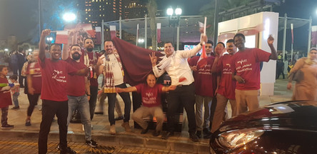Qatar's Asia Cup victory celebration