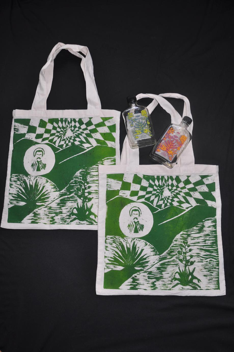 Bolsas Proyecto marca «Mal verde» Mezcal 2021