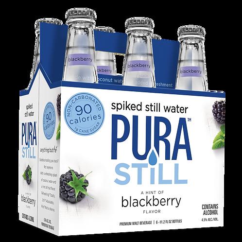 Pura Still Blackberry 6 Pack Bottles