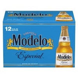 Modelo Especial 12 pack bottles