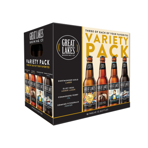 Great Lakes Variety 12 pack bottles