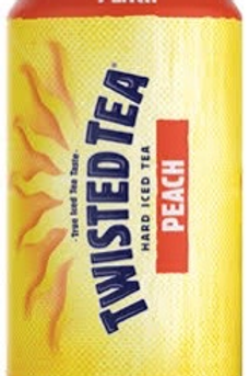 Twisted Tea Peach 12 pack cans