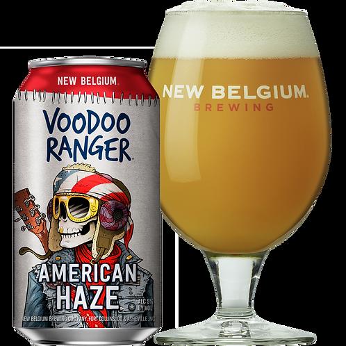 New Belgium American Haze 6 pack cans
