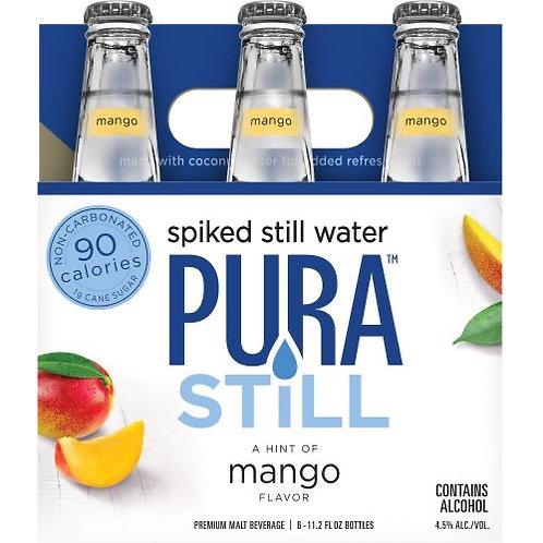 Pura Still Mango 6 Pack Bottles