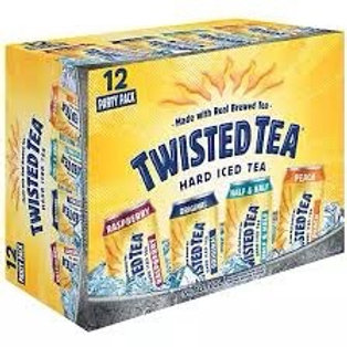 Twisted Tea Variety 12 pack cans